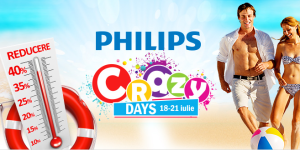 nebunia promotiilor–crazy days Philips