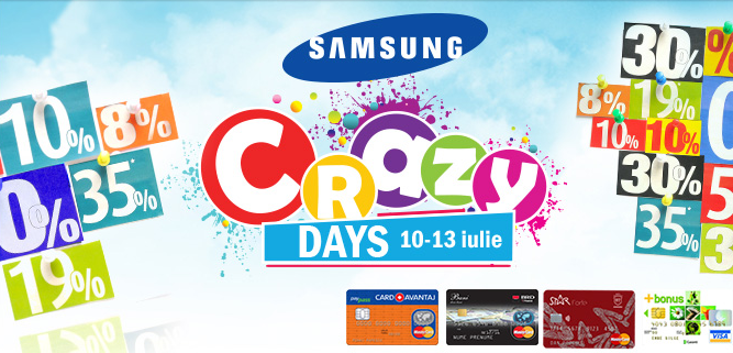 nebunia promotiilor–crazy day samsung