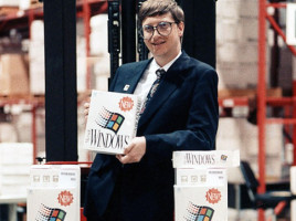 sirul lui Bill Gates sau windows history