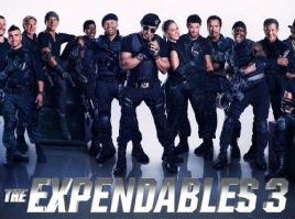 The Expendables 3 online