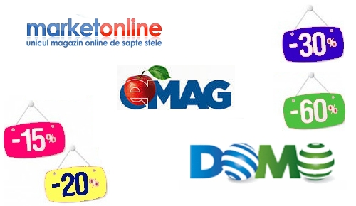 domo pink day-emag weekend-ul laptopurilor-market online back to school
