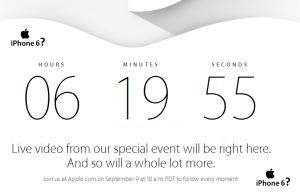iphone 6 se lanseaza astazi!