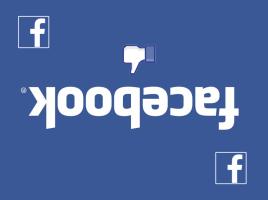 Iar a picat Facebook!