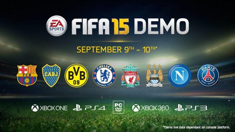 FIFA 15 Demo lansare astazi