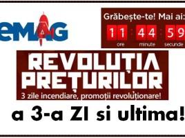 Revolutia preturilor la eMAG ziua III si ultima!