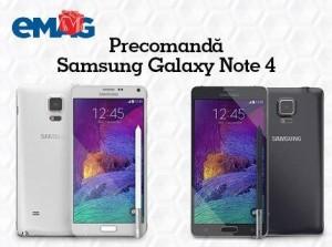 Samsung Galaxy Note 4 precomanda