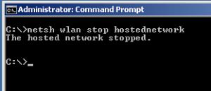 WIFI Hotspot Windows-transforma laptopul intr-un router wireless