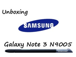 Samsung Galaxy Note 3 N9005 Unboxing