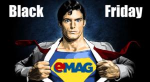 eMAG confirma oficial data de 18 noiembrie pentru Black Friday 2016