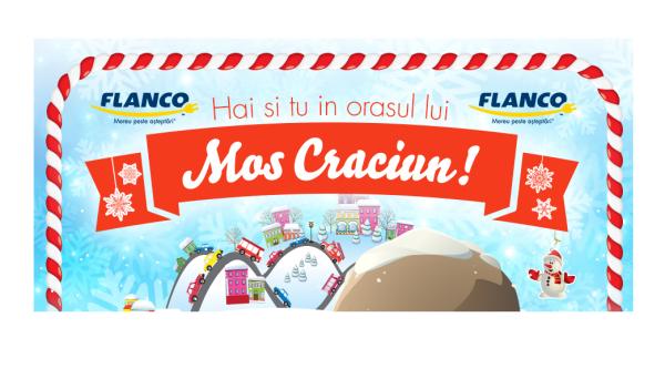Orasul lui Mos Craciun la Flanco, vezi catalogul cu recuceri FF