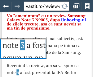 Tips and Tricks Galaxy Note 3 - trucuri utile