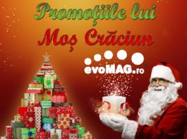 La evoMAG au sosit promotiile lui Mos Craciun