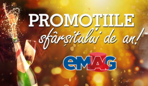 Prinde promotiile sfarsitului de an la Emag!