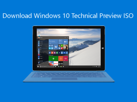 Noul Windows 10 Technical Preview download ISO ss