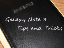 Tips and Tricks Galaxy Note ff