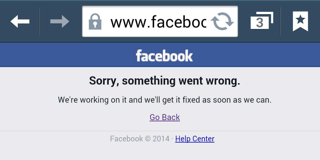 Facebook a picat, iar...
