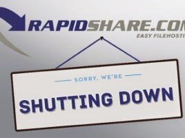 RapidShare se inchide dupa 13 ani de emisie