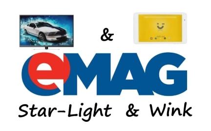 eMAG lanseaza Wink si Star-Light, doua branduri proprii ss