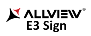 Allview lanseaza E3 Sign cu senzor de amprenta logo