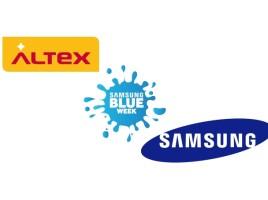 Samsung Blue Week la Altex cu reduceri de pana la 50