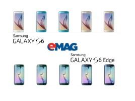 Samsung Galaxy S6 si S6 Edge precomanda la eMAG ss