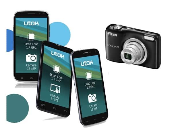 Smartphone Utok cu aparat foto cadou