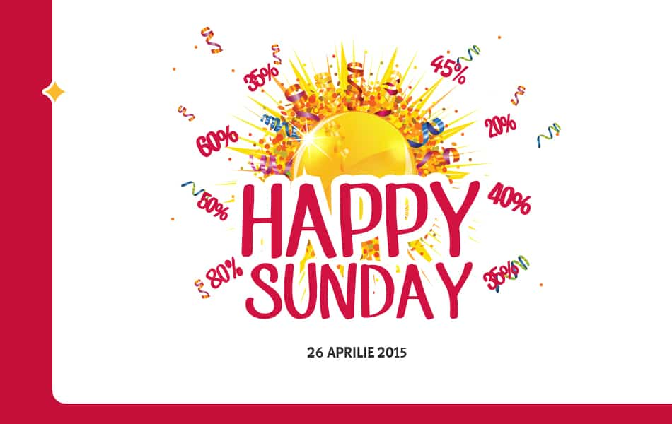 Noi reduceri Happy Sunday Altex