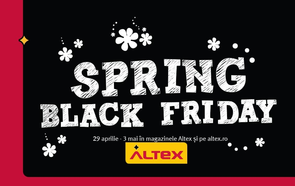 Altex Spring Black Friday 2015 intre 29 aprilie 3 mai