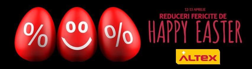 Altex reduceri fericite de Happy Easter 12-13 aprilie