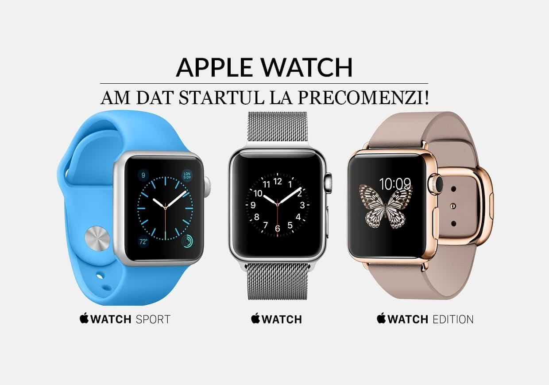 Apple Watch precomanda in Romania prin Quickmobile ss1