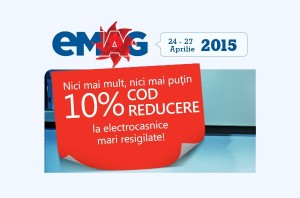 Noi reduceri la produse resigilate eMAG