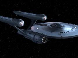 USS Enterprise Star Trek Router 2
