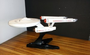 USS Enterprise Star Trek Router