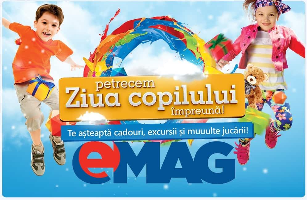 Campanie eMAG de 1 Iunie-Petrecem Ziua Copilului impreuna