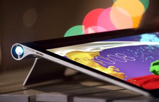 Review Lenovo Tab Yoga 2 Pro cu proiector incorporat