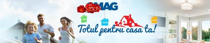 Totul pentru casa ta - o noua campanie marca eMAG