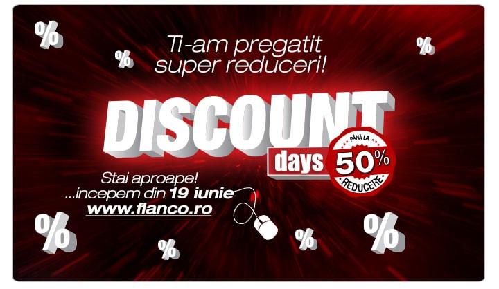 Flanco Discount Days cu reduceri de pana la 50%