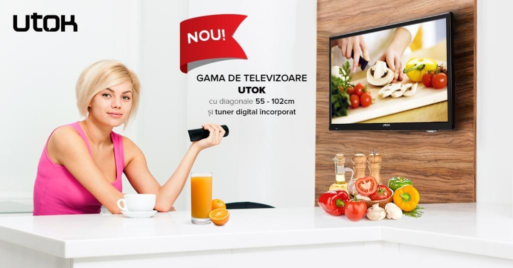 Utok digitalizeze Romania si lanseaza televizoare
