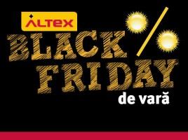 Altex Black Friday de vara intre 13 si 19 august 2015