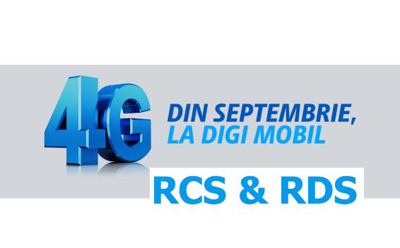 De astazi RCS & RDS este posesorul unei licentei 4G