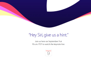 Noul iPhone 6S se lanseaza pe 9 Septembrie