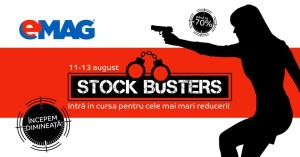 eMAG Stock Busters 11-13 August a 2-a editie de vara