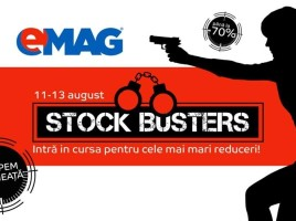 eMAG Stock Busters 11-13 August a 2-a editie de vara ss