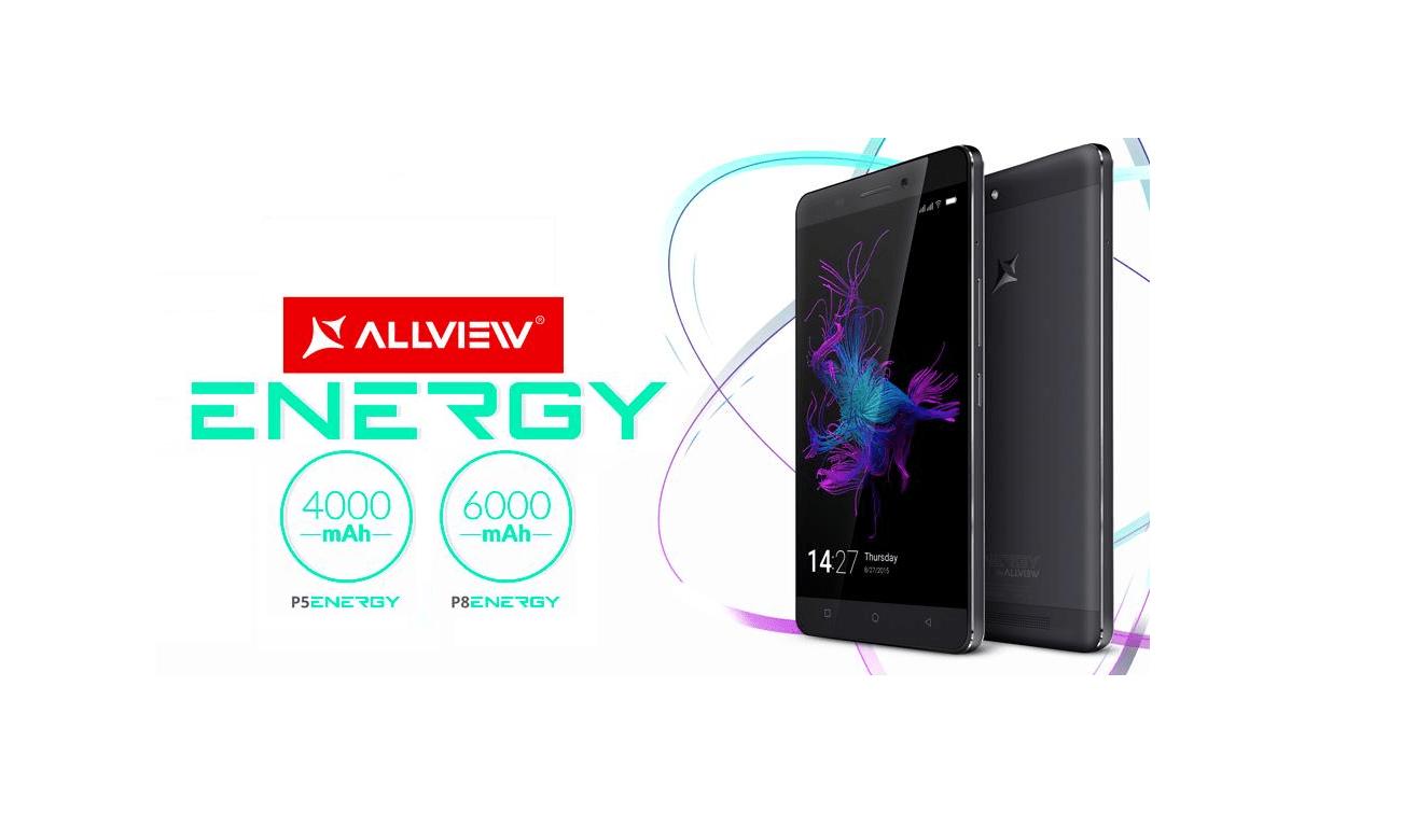 P5 si P8 din Gama Allview Energy-2 noi telefoane cu super Baterii ss