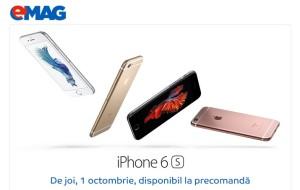 iPhone 6s si 6S Plus precomanda la eMAG
