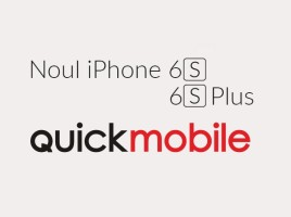 iPhone 6s si 6S Plus precomanda in Romania prin QuickMobile