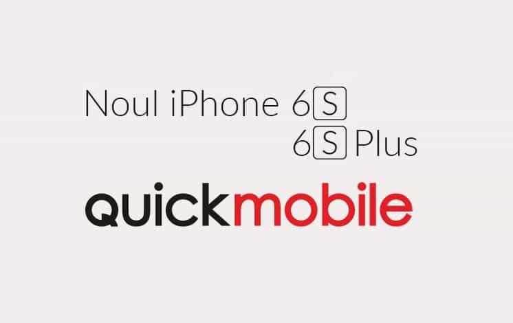 iPhone 6s si 6S Plus precomanda in Romania prin QuickMobile