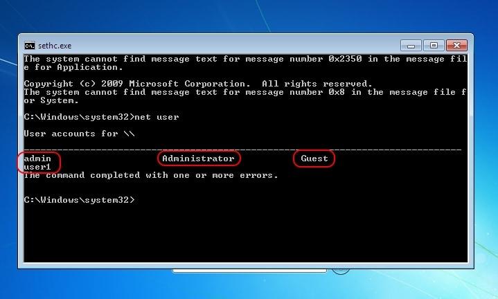 Recuperare parola de Windows 7, chiar si pentru contul Administrator