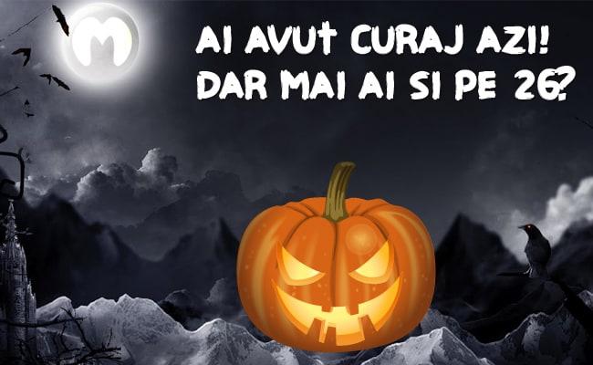 Reduceri de Halloween la Marketonline 26-31 Octombrie 2015