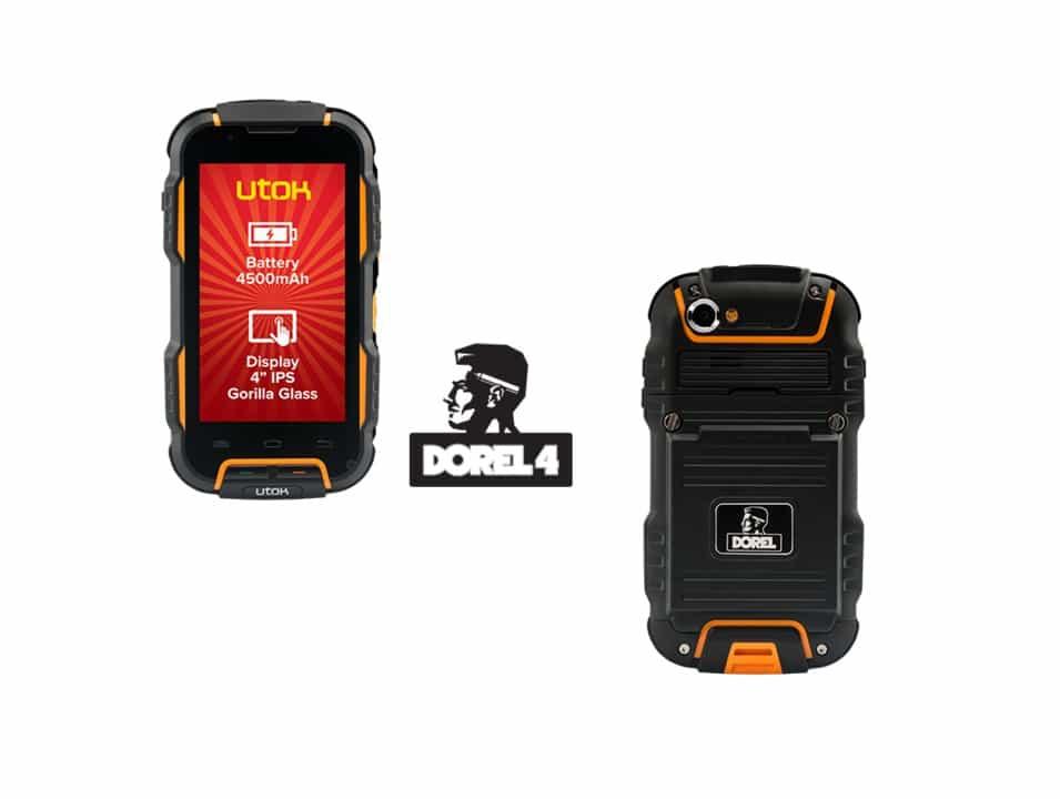 Utok Dorel 4-o nou versiune de telefon rezistent la socuri, apa si praf (rugged)